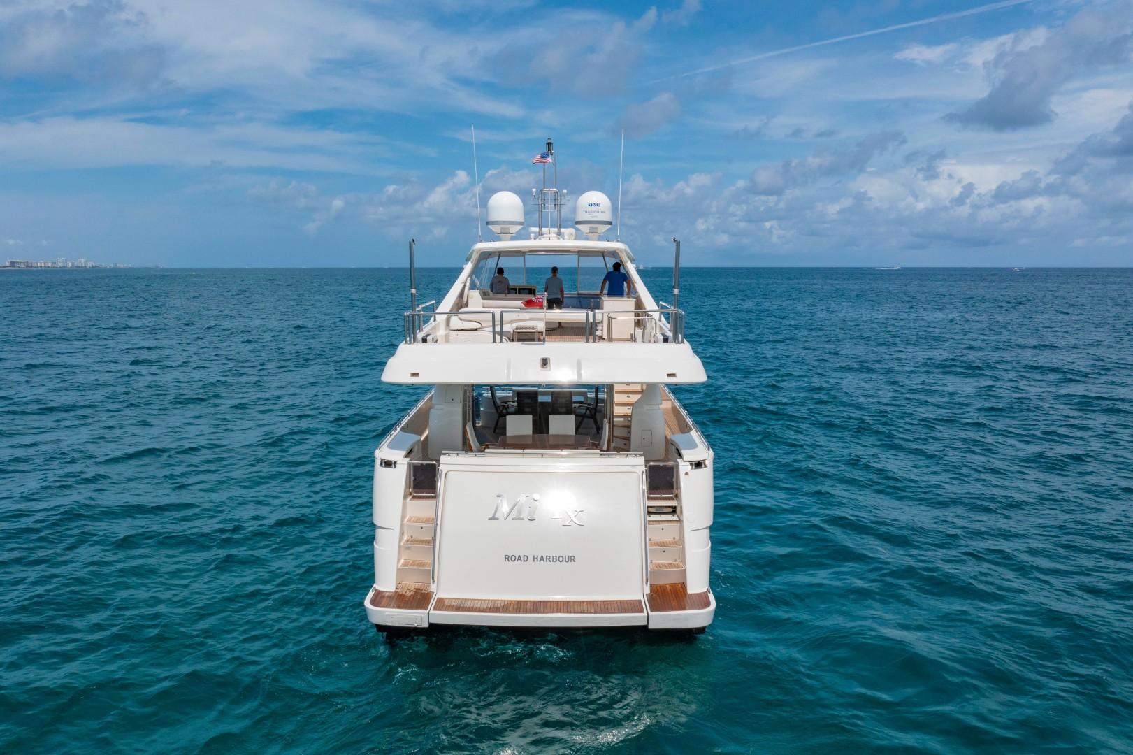 Ferretti Yachts-830HT 2010-MI RX Fort Lauderdale-Florida-United States-Stern Profile-1644640 | Thumbnail