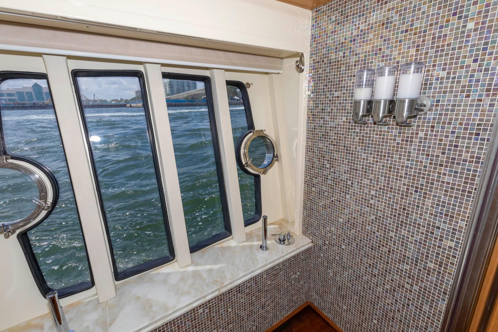 Ferretti Yachts-830HT 2010-MI RX Fort Lauderdale-Florida-United States-Master Shower-1644647 | Thumbnail