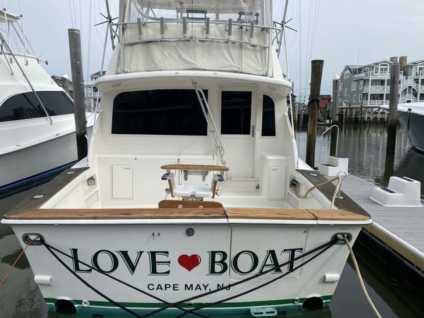 Ocean Yachts-Super Sport 1998-Love Boat Cape May-New Jersey-United States-Stern View-1624931 | Thumbnail