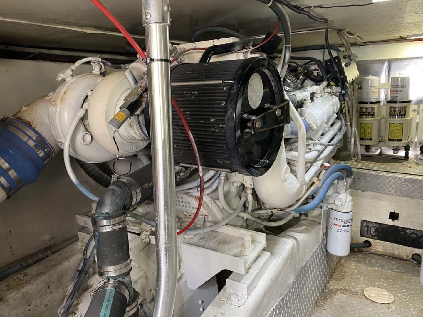 Ocean Yachts-Super Sport 1998-Love Boat Cape May-New Jersey-United States-Port Engine-1624923 | Thumbnail