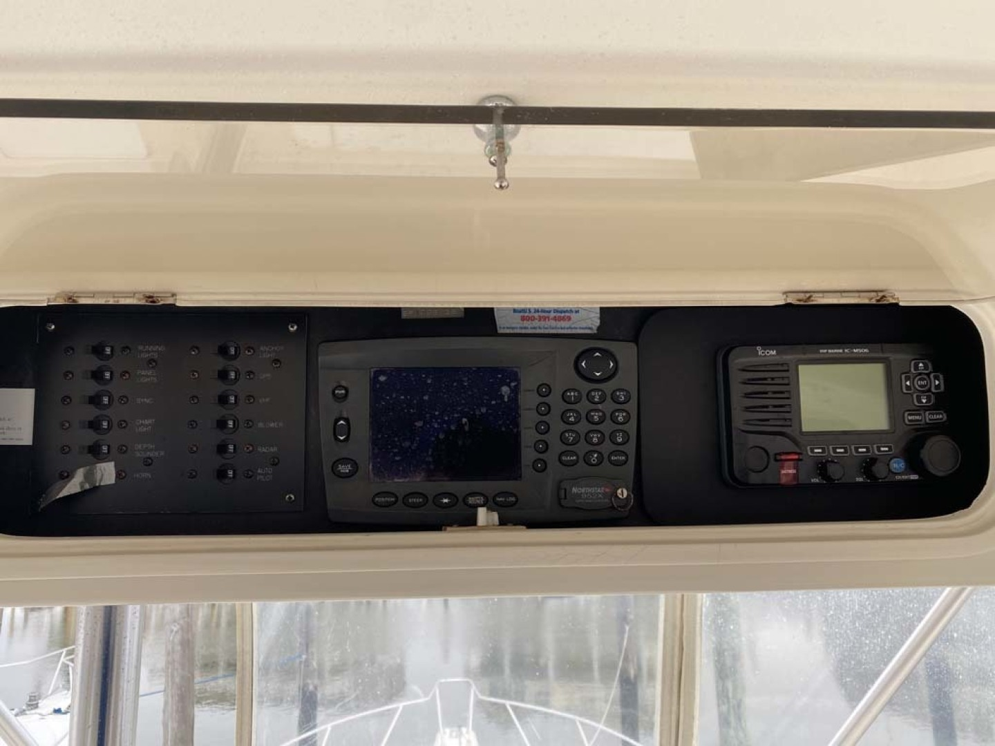 Ocean Yachts-Super Sport 1998-Love Boat Cape May-New Jersey-United States-Switches, Northstar And ICOM-1624916 | Thumbnail