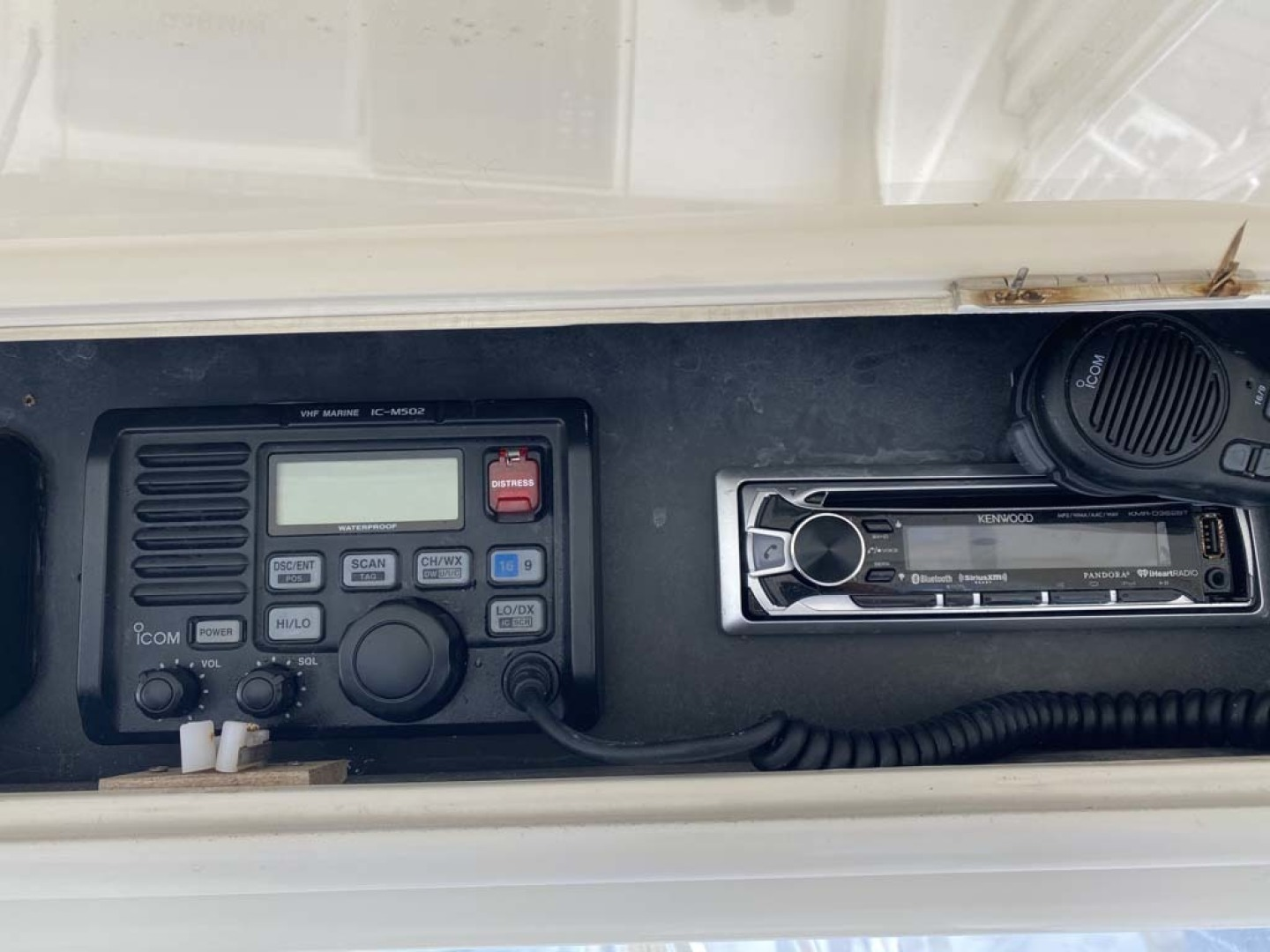 Ocean Yachts-Super Sport 1998-Love Boat Cape May-New Jersey-United States-ICOM VHF And Kenwood Stereo-1624915 | Thumbnail