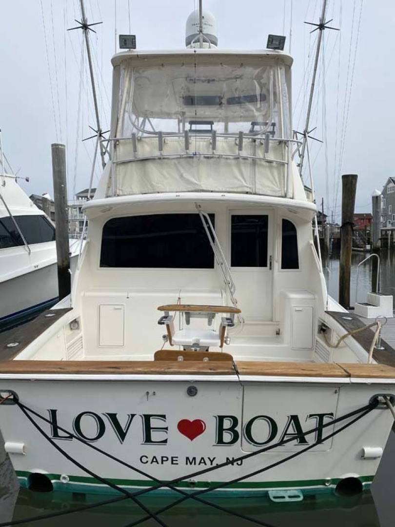 Ocean Yachts-Super Sport 1998-Love Boat Cape May-New Jersey-United States-Stern View-1624932 | Thumbnail