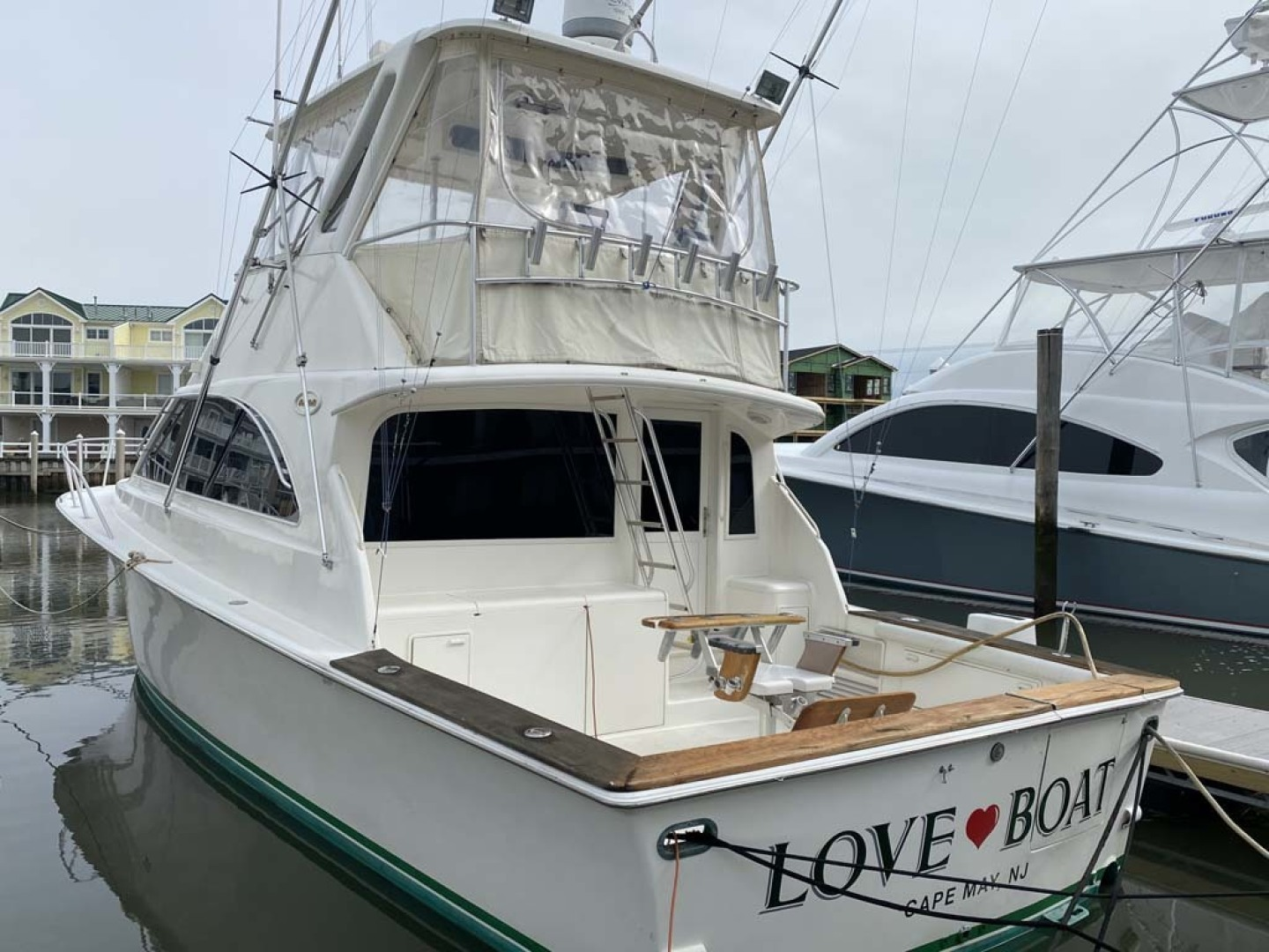 Ocean Yachts-Super Sport 1998-Love Boat Cape May-New Jersey-United States-Main Profile-1624898 | Thumbnail