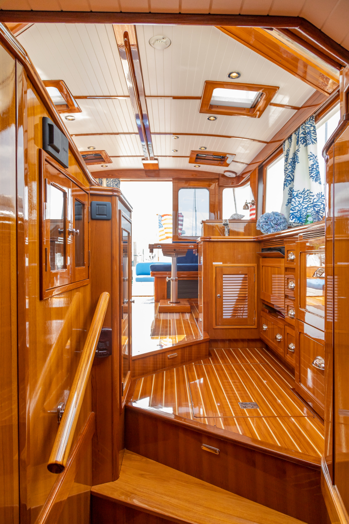 Bruckmann-Abaco 47 2020-EAST BY SOUTH West Palm Beach-Florida-United States-Passageway To Galley-1623824 | Thumbnail