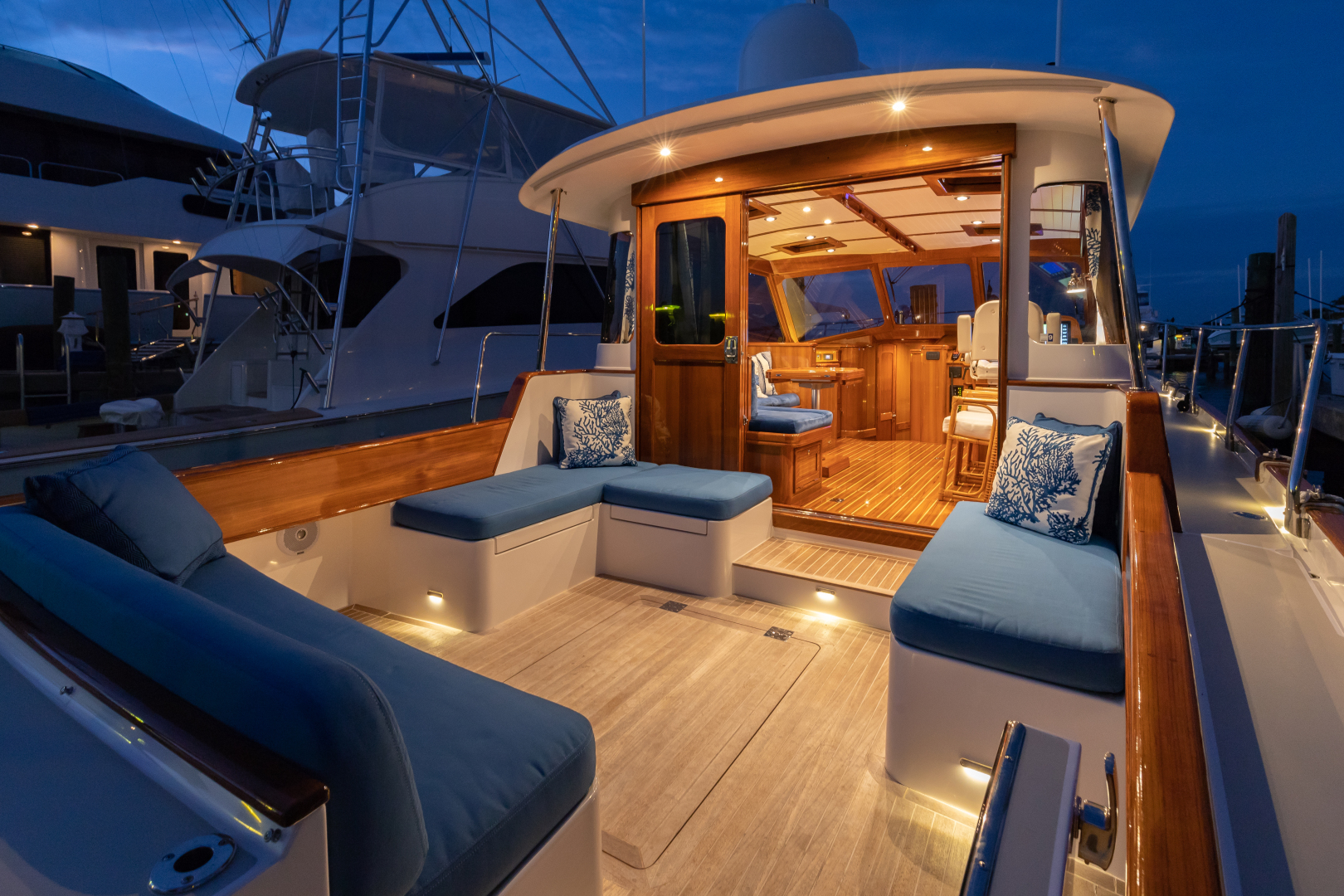 Bruckmann-Abaco 47 2020-EAST BY SOUTH West Palm Beach-Florida-United States-Aft Deck-1623827 | Thumbnail