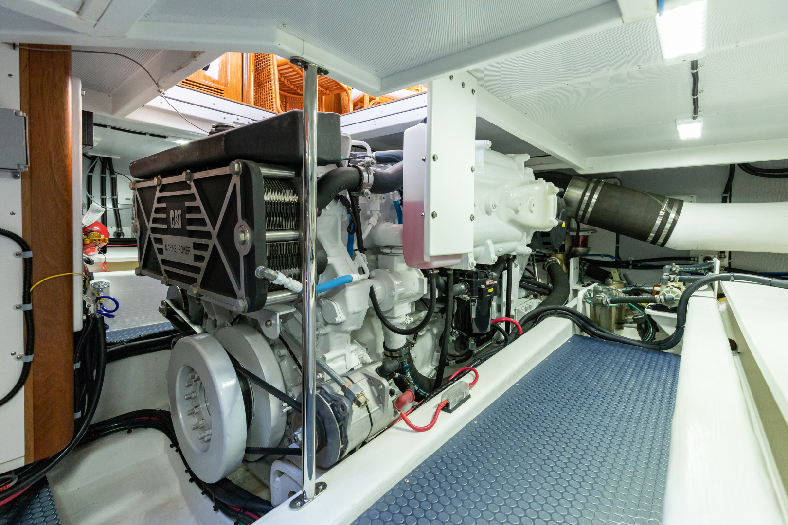 Bruckmann-Abaco 47 2020-EAST BY SOUTH West Palm Beach-Florida-United States-Engine Room-1623825 | Thumbnail