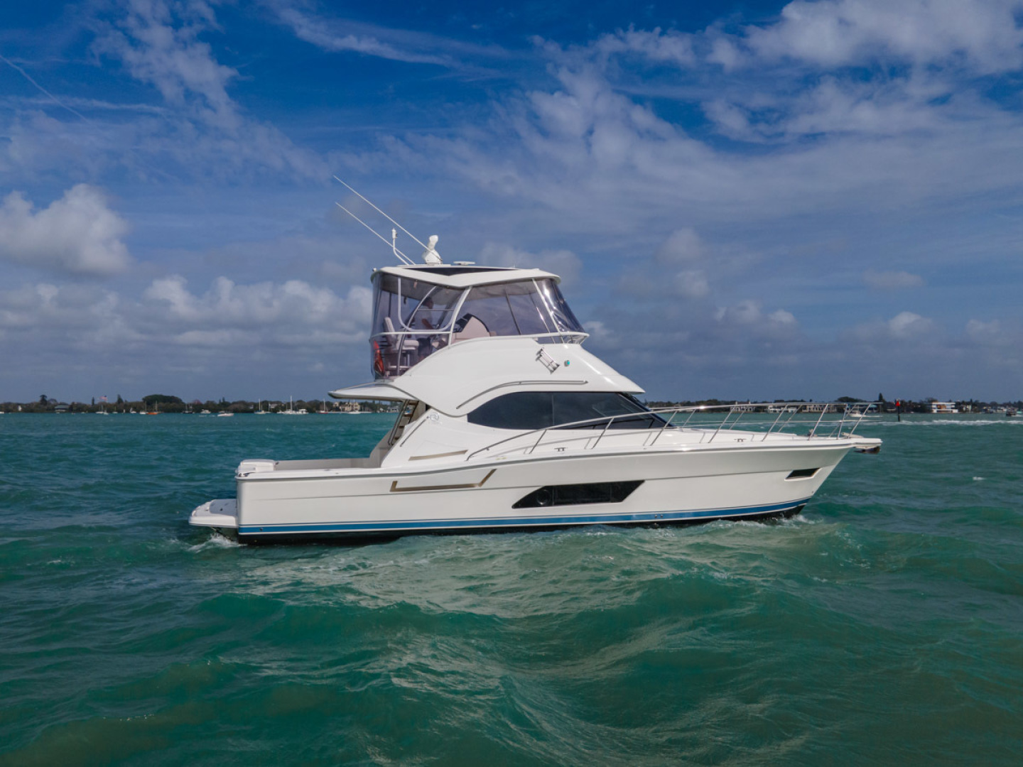 Riviera-Open Flybridge 2020-Our Trade Florida-United States-1623645 | Thumbnail