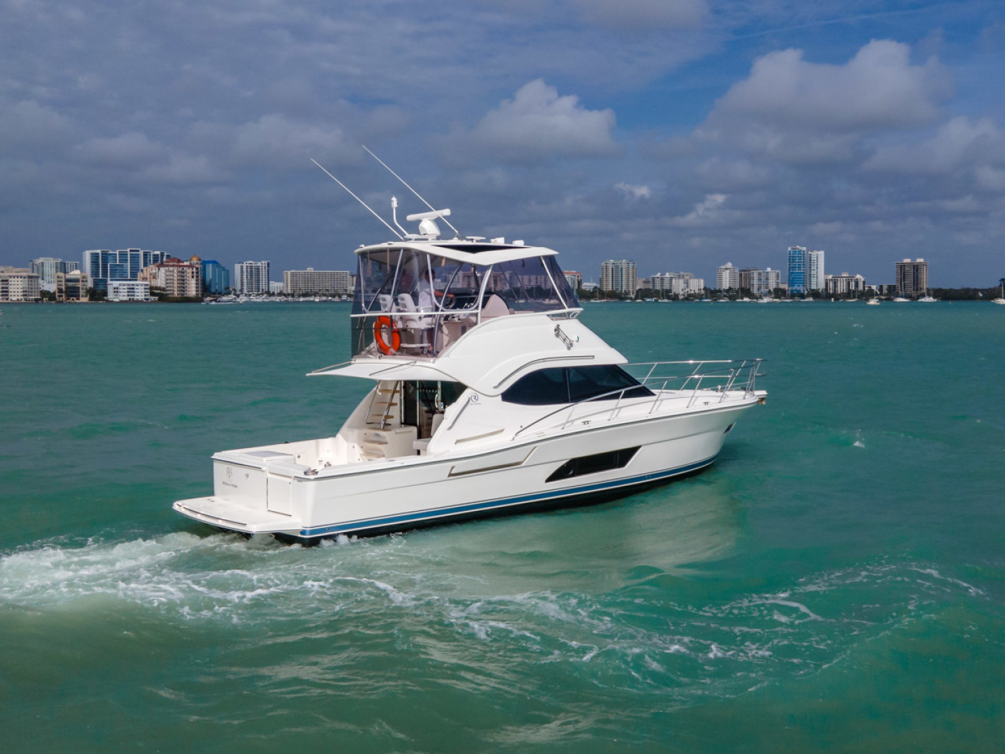 Riviera-Open Flybridge 2020-Our Trade Florida-United States-1623651 | Thumbnail