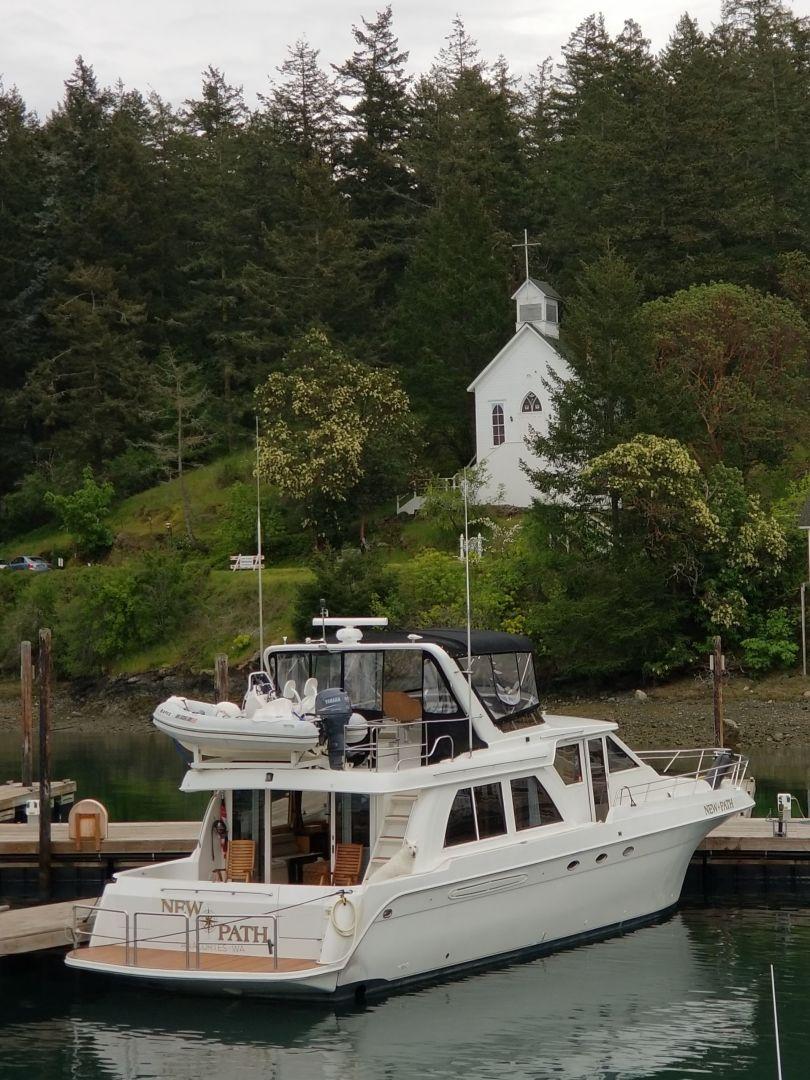Navigator-5800 1999-New Path Anacortes-Washington-United States-Dock side-1623773   Thumbnail