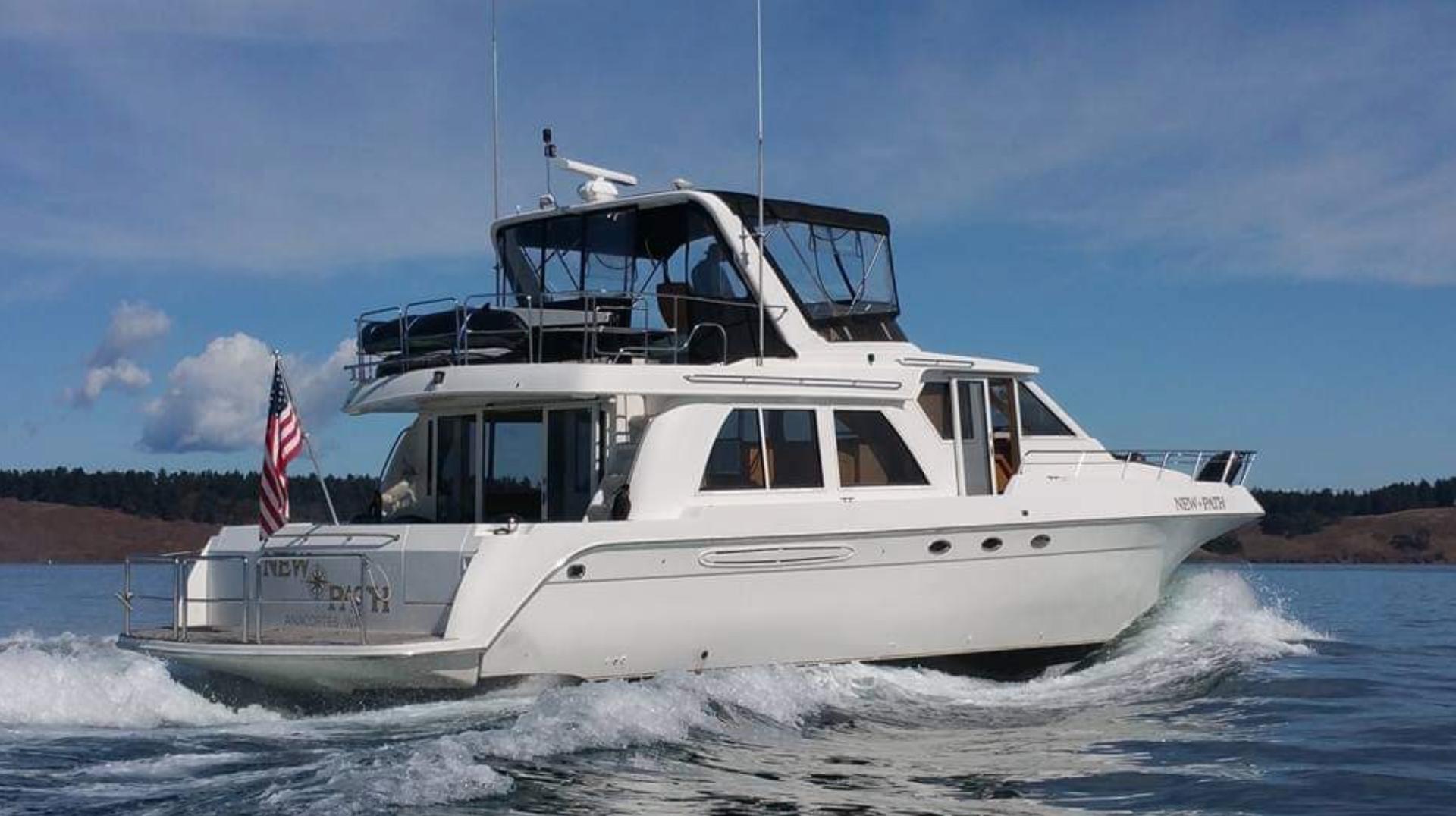 Navigator-5800 1999-New Path Anacortes-Washington-United States-Aft Profile-1623807   Thumbnail