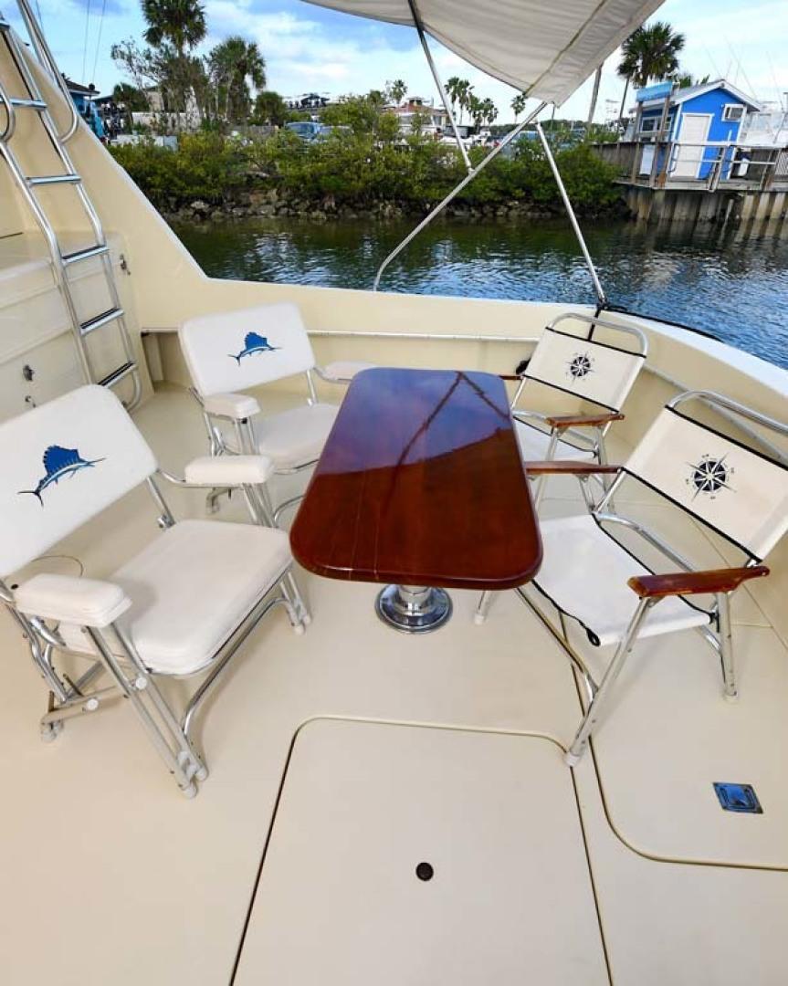 Hatteras-Convertible Sportfish 1985-ZARAY Fort Pierce-Florida-United States-Cockpit With Table Setup-1623853   Thumbnail