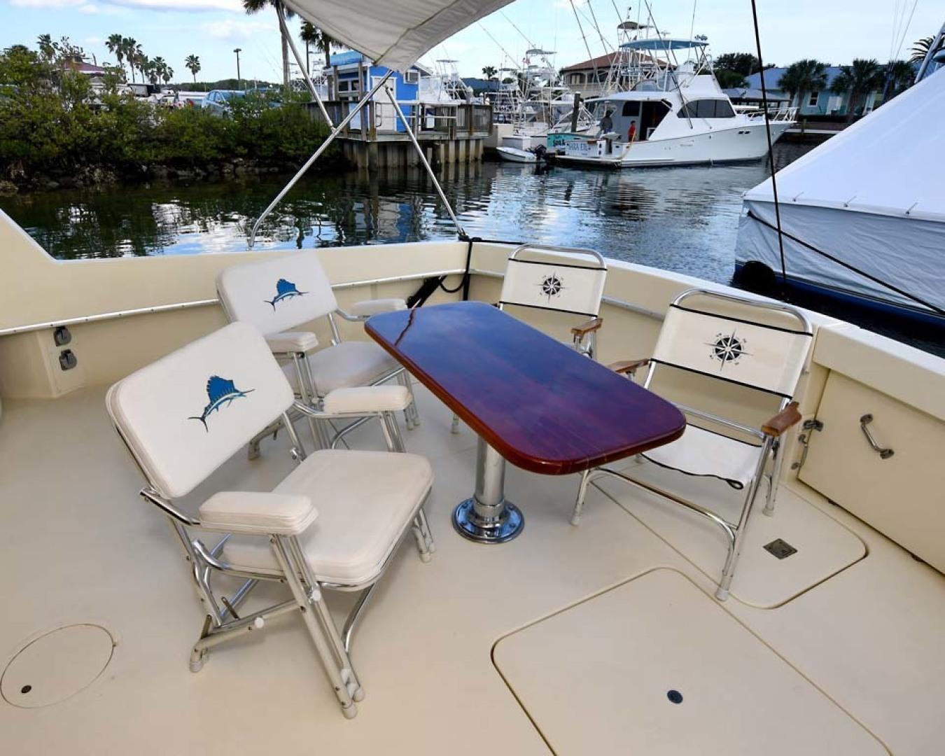 Hatteras-Convertible Sportfish 1985-ZARAY Fort Pierce-Florida-United States-Cockpit To Starboard-1623836   Thumbnail