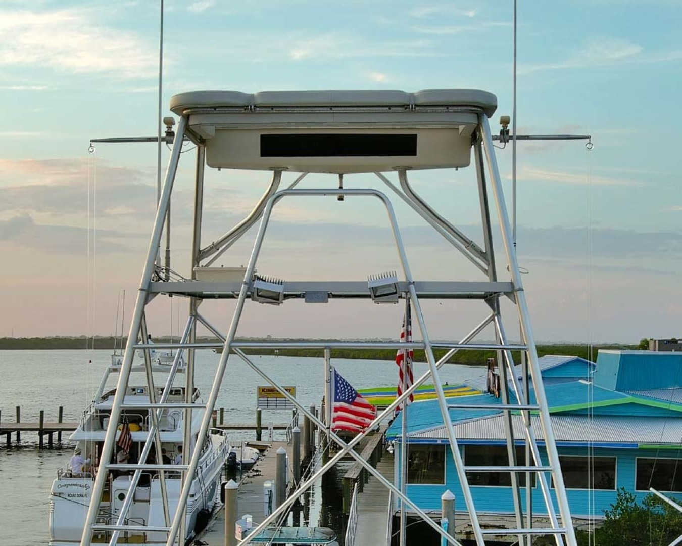 Hatteras-Convertible Sportfish 1985-ZARAY Fort Pierce-Florida-United States-Tuna Tower-1623838   Thumbnail