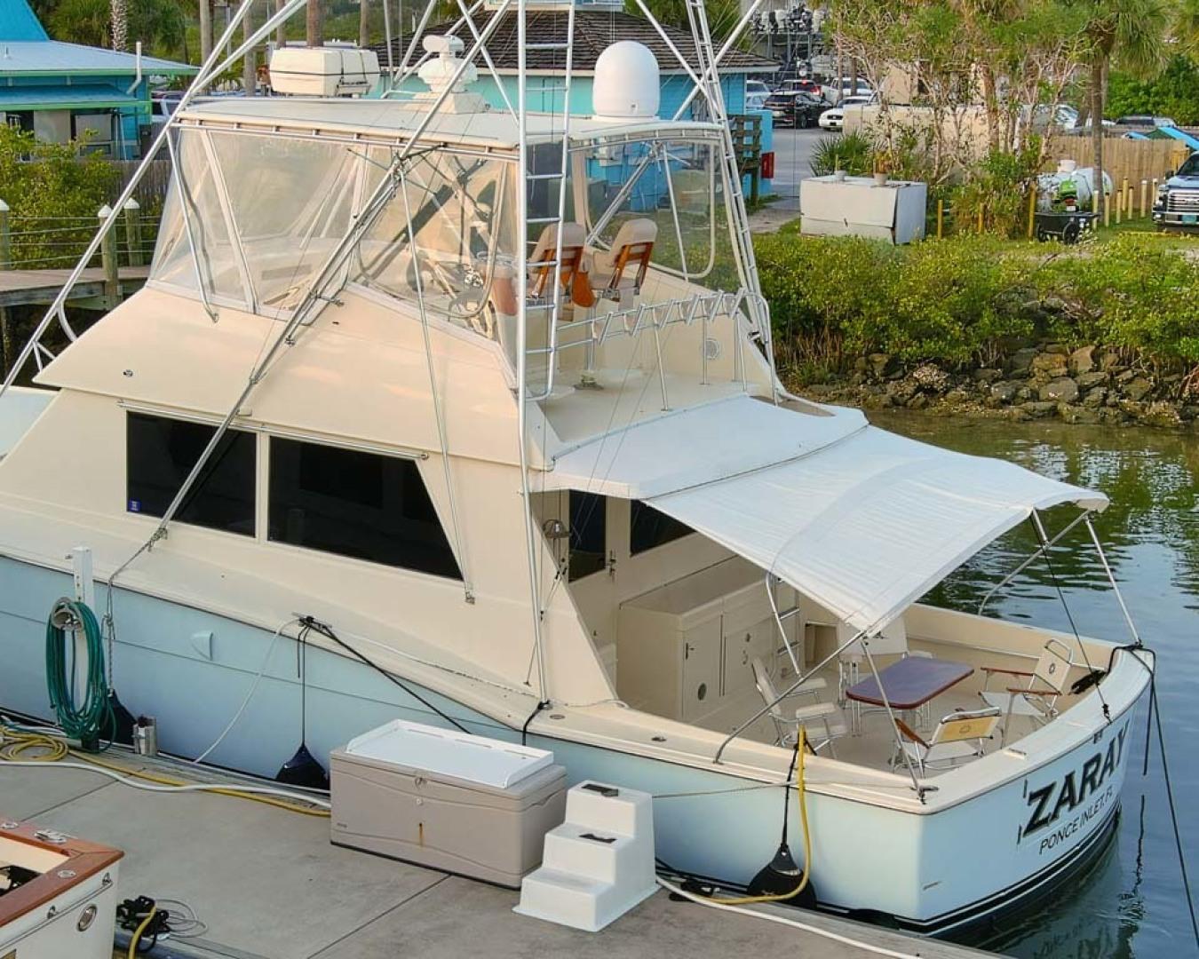 Hatteras-Convertible Sportfish 1985-ZARAY Fort Pierce-Florida-United States-Port Aft Profile-1623835   Thumbnail