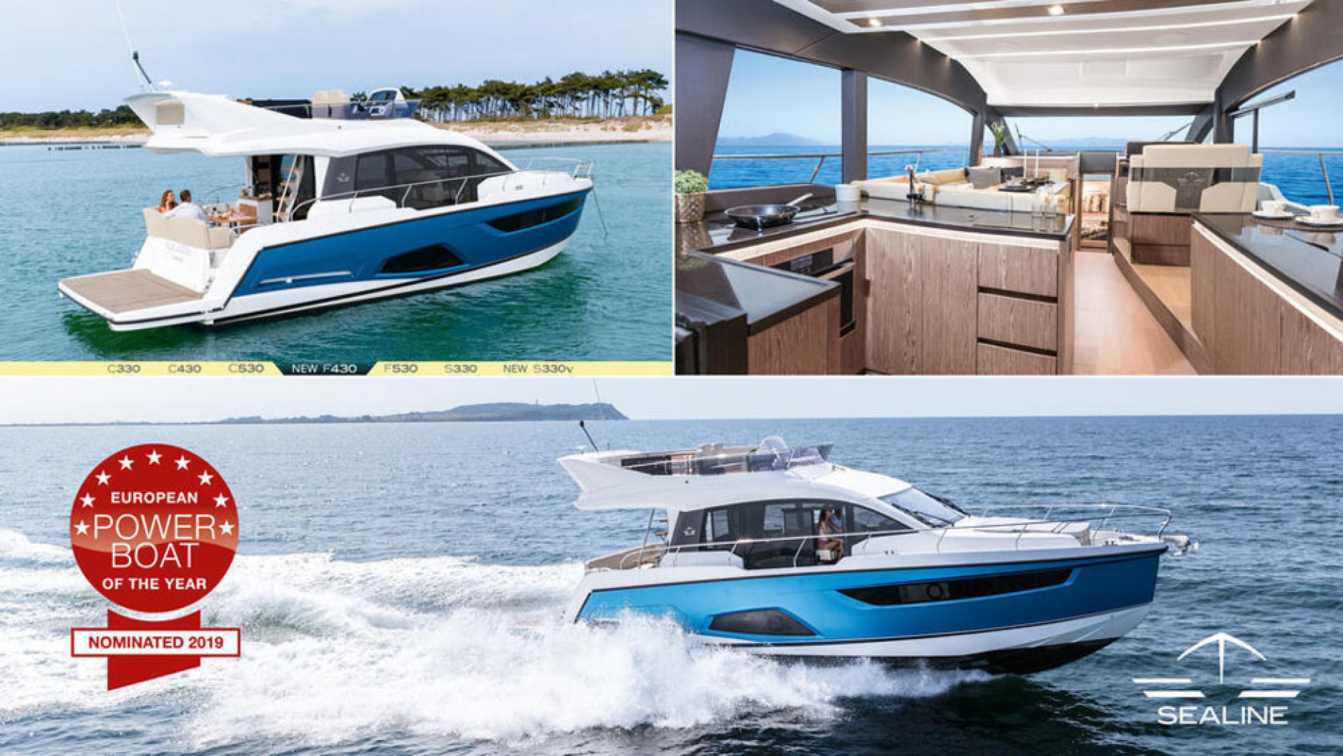 Picture Of a 2022 Sealine 45 F430 Motor Yachts | 1628518