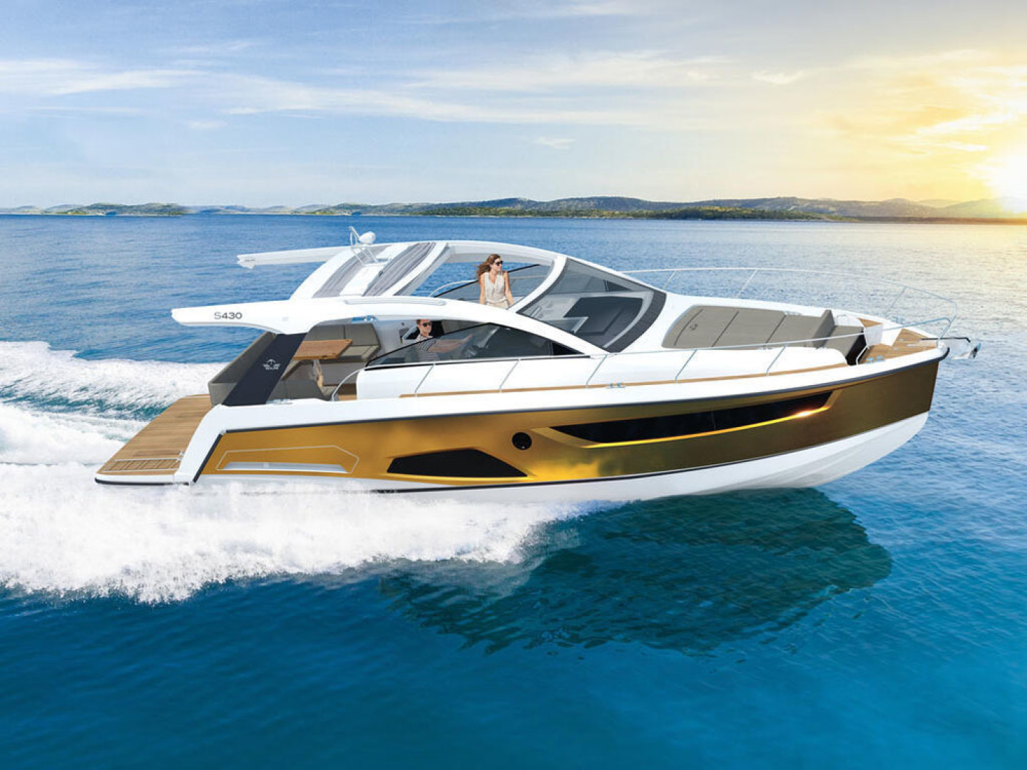 Picture Of a 2022 Sealine 43 S430 Motor Yachts   1628693
