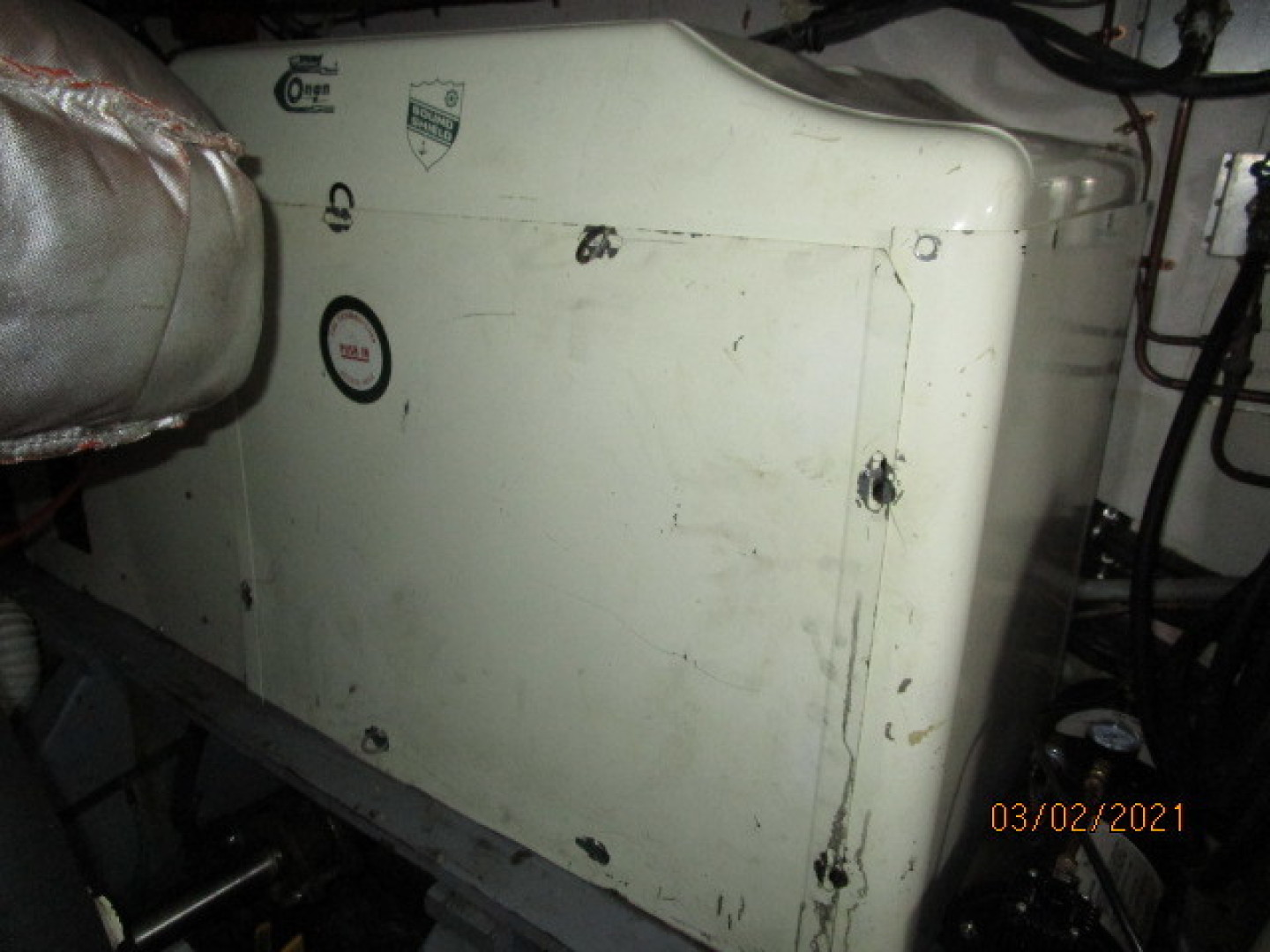 Hatteras-48 1981-Partner Ship Carolina Beach-North Carolina-United States-48 Hatteras generator sound box-1629289 | Thumbnail