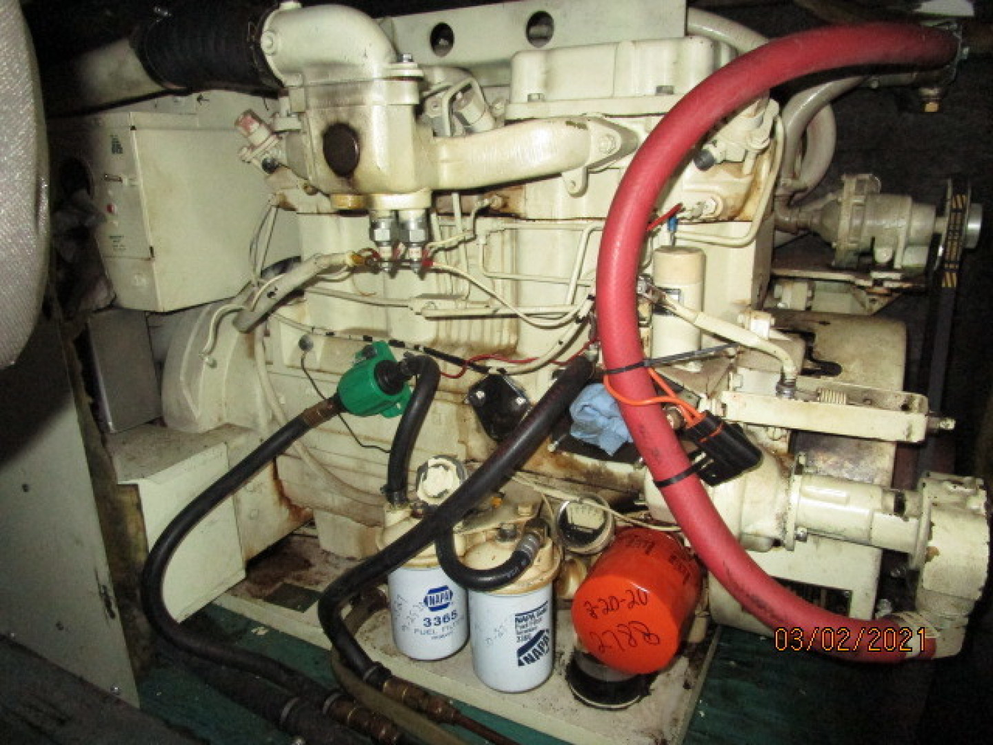 Hatteras-48 1981-Partner Ship Carolina Beach-North Carolina-United States-48 Hatteras generator-1629288 | Thumbnail