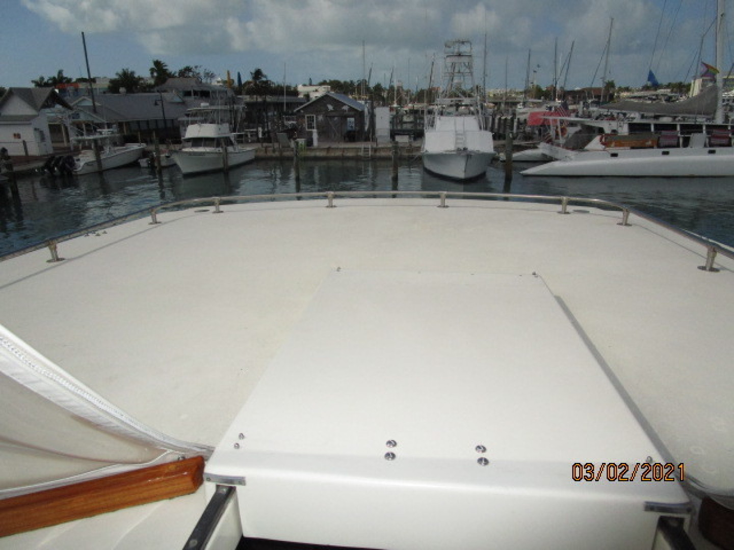 Hatteras-48 1981-Partner Ship Carolina Beach-North Carolina-United States-48 Hatteras sundeck hardtop-1629323 | Thumbnail