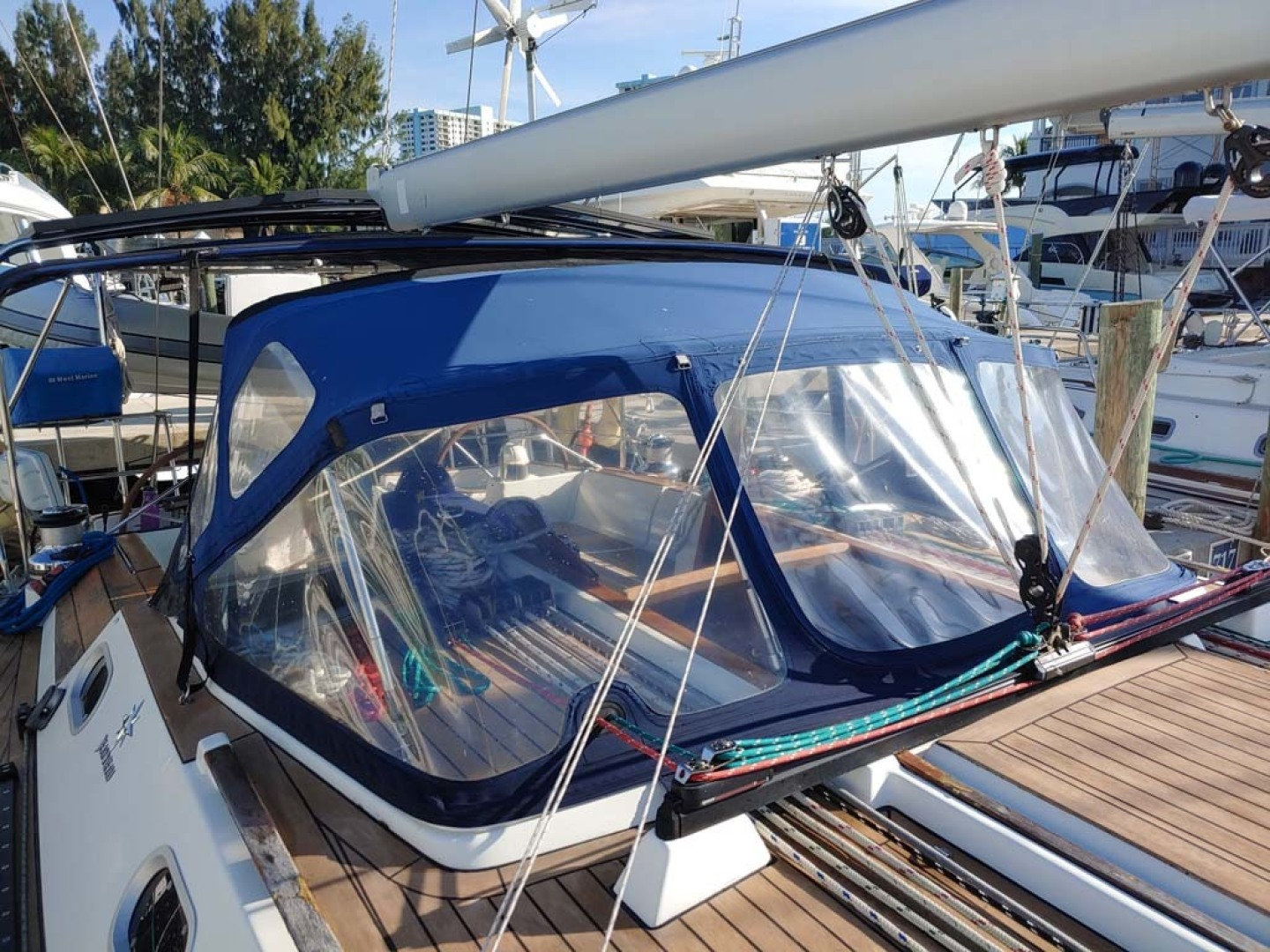 Jeanneau-Sun Odyssey 52.2 2001-Perseverance Hollywood-Florida-United States-Helm Dodger-1631450 | Thumbnail
