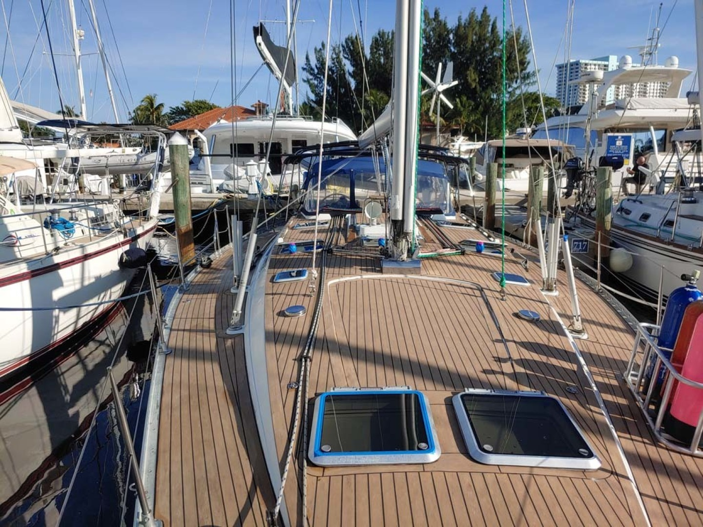 Jeanneau-Sun Odyssey 52.2 2001-Perseverance Hollywood-Florida-United States-Foredeck Aft-1631439 | Thumbnail