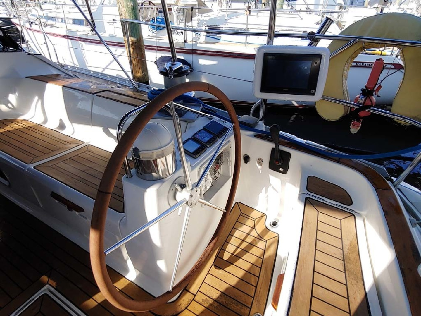Jeanneau-Sun Odyssey 52.2 2001-Perseverance Hollywood-Florida-United States-Starboard Helm-1631459 | Thumbnail