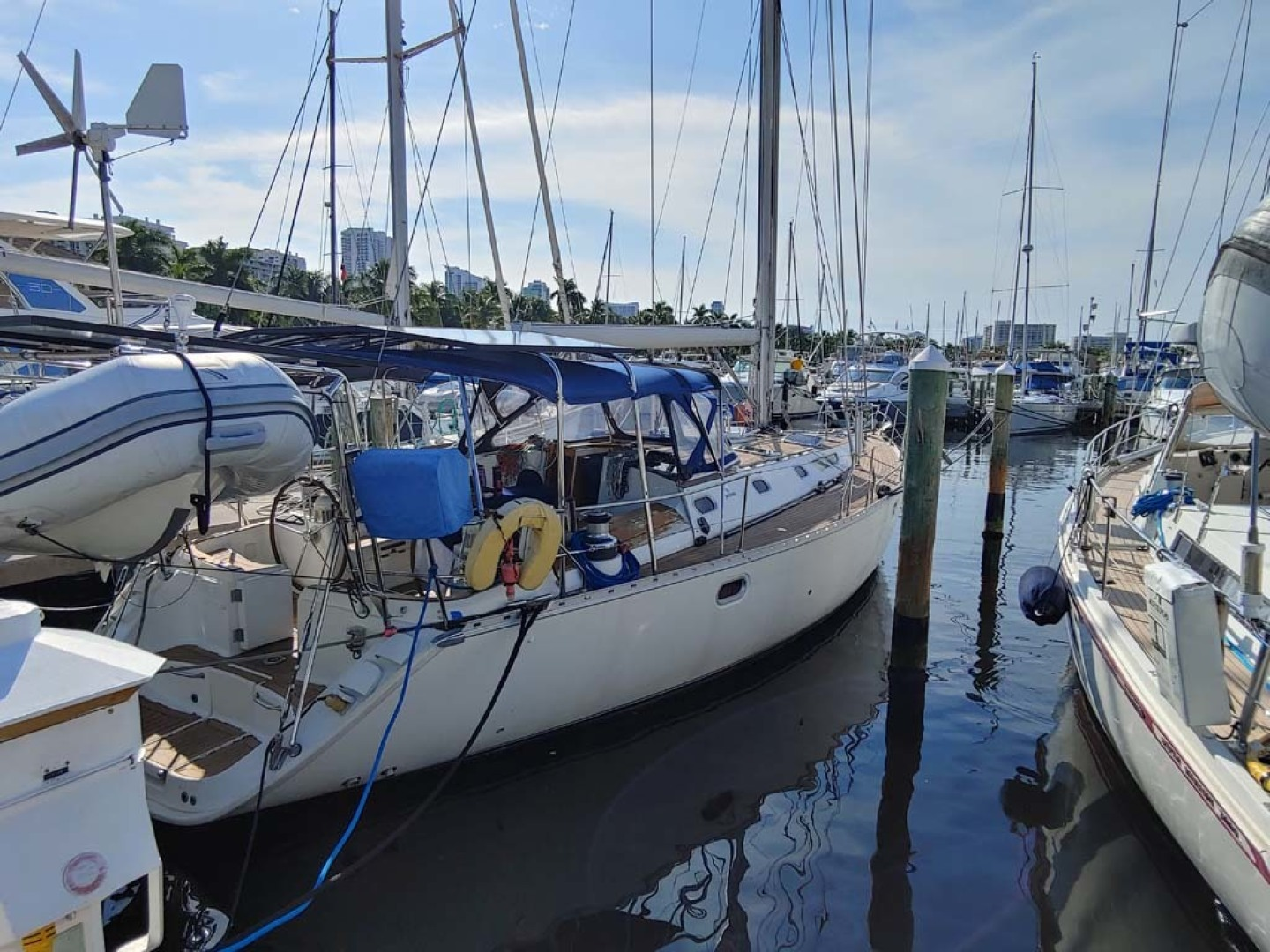 Jeanneau-Sun Odyssey 52.2 2001-Perseverance Hollywood-Florida-United States-Starboard Profile-1631431 | Thumbnail