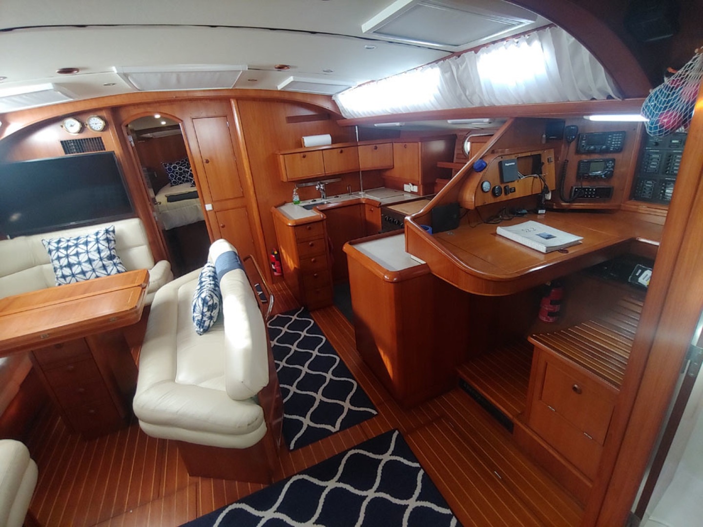 Jeanneau-Sun Odyssey 52.2 2001-Perseverance Hollywood-Florida-United States-Cabin Interior  Starboard-1640970 | Thumbnail