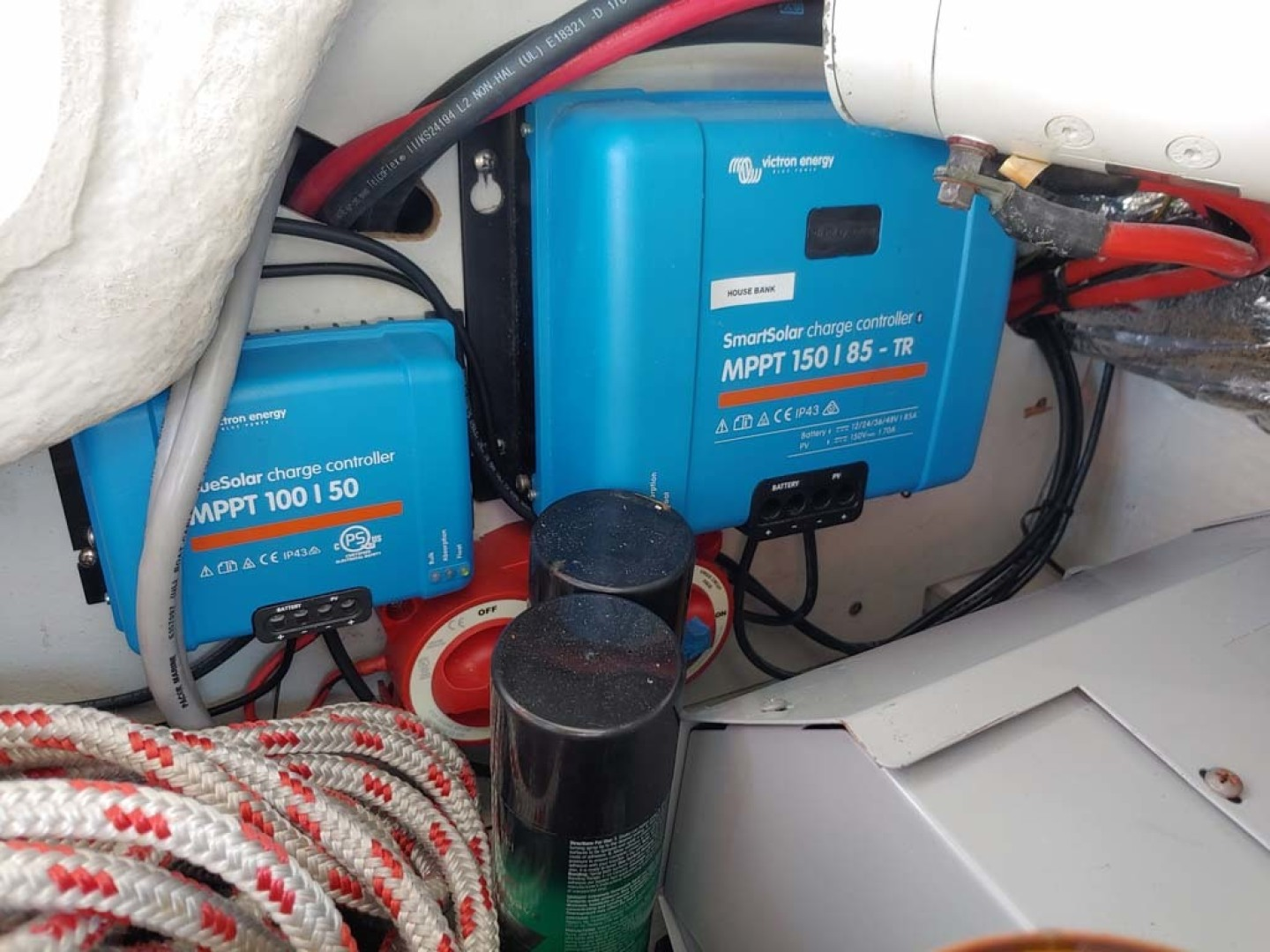 Jeanneau-Sun Odyssey 52.2 2001-Perseverance Hollywood-Florida-United States-Dual Solar Chargers-1631482 | Thumbnail