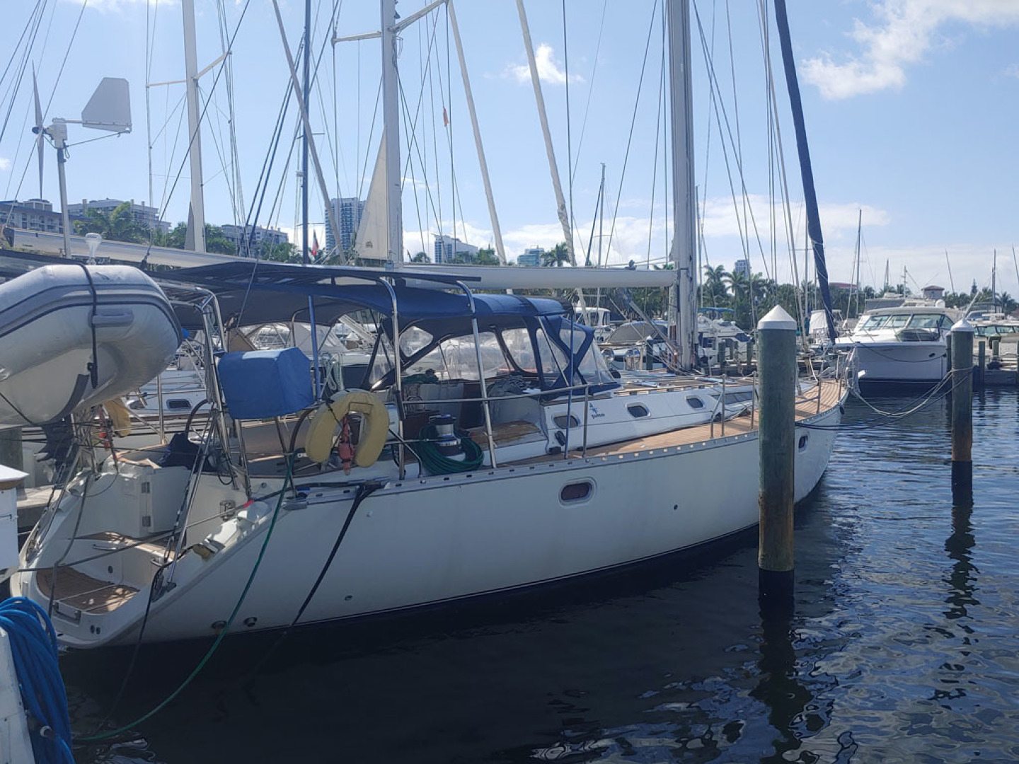 Jeanneau-Sun Odyssey 52.2 2001-Perseverance Hollywood-Florida-United States-Starboard Aft Profile-1640971 | Thumbnail