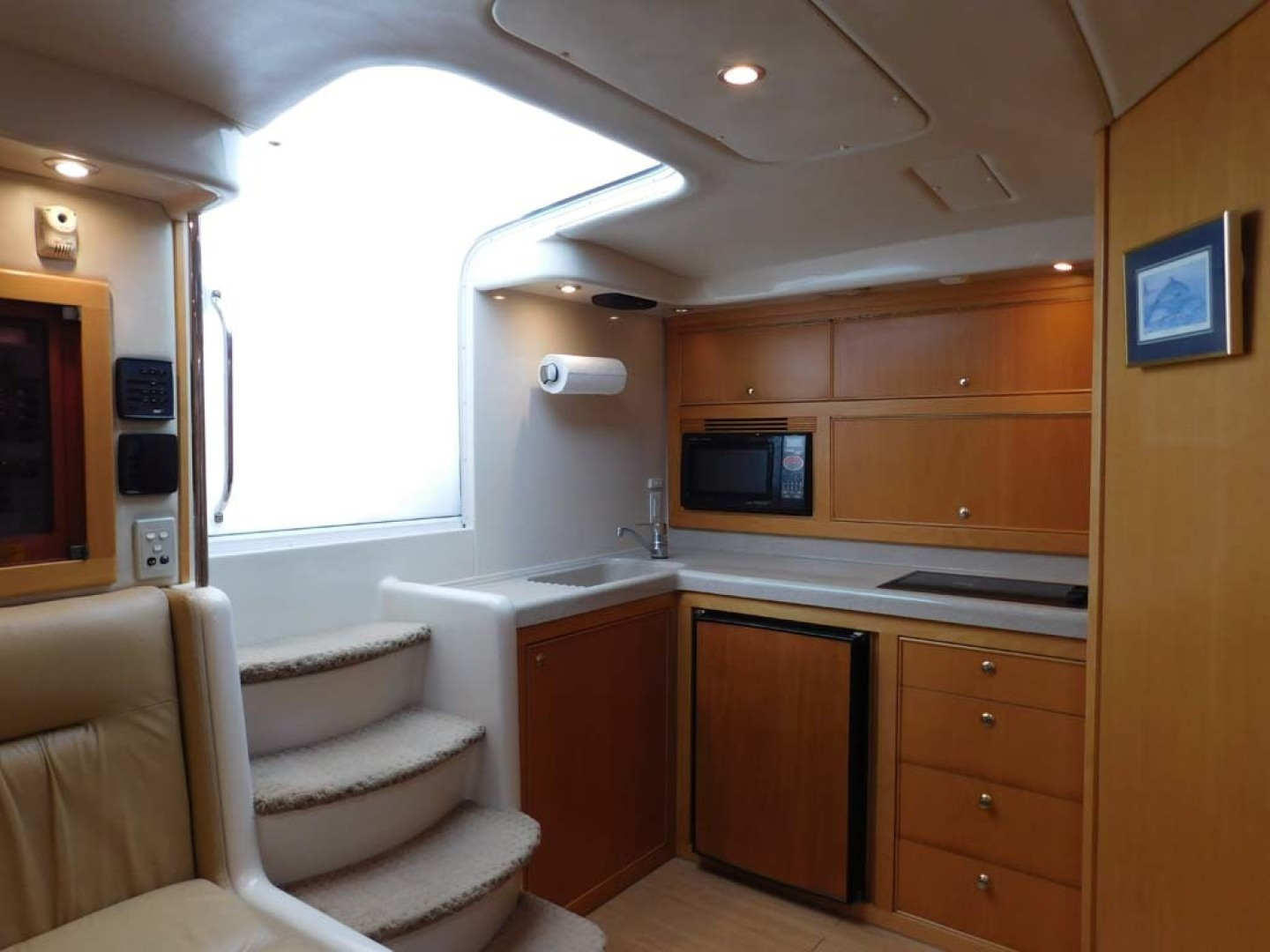 Riviera-Express 2003-Last 1 Cocoa Beach-Florida-United States-Cabin Entry and Galley to Port-1633046 | Thumbnail