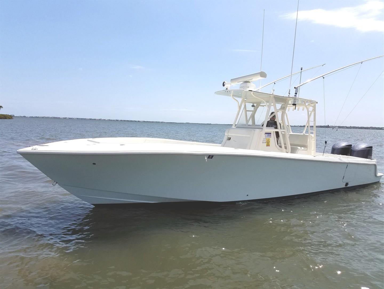 SeaVee 34 - Exterior Profile