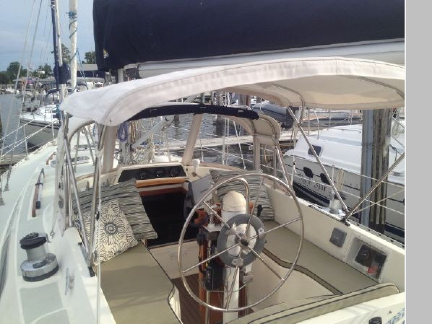 Blue Highway 42ft Moody Yacht For Sale
