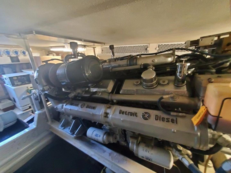 Viking 57 - Heavy Hitter - Engine Room
