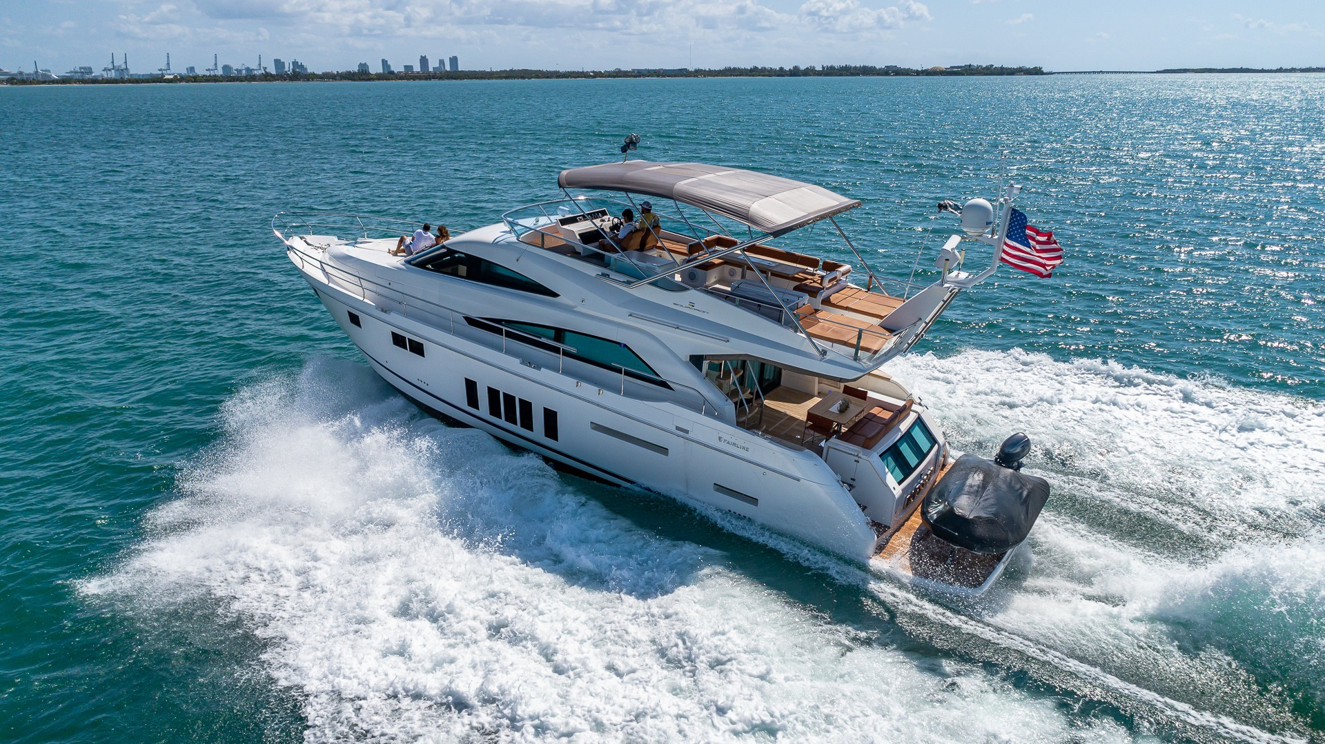 Picture Of a 2015 Fairline 65 Squadron Cruisers   1673311