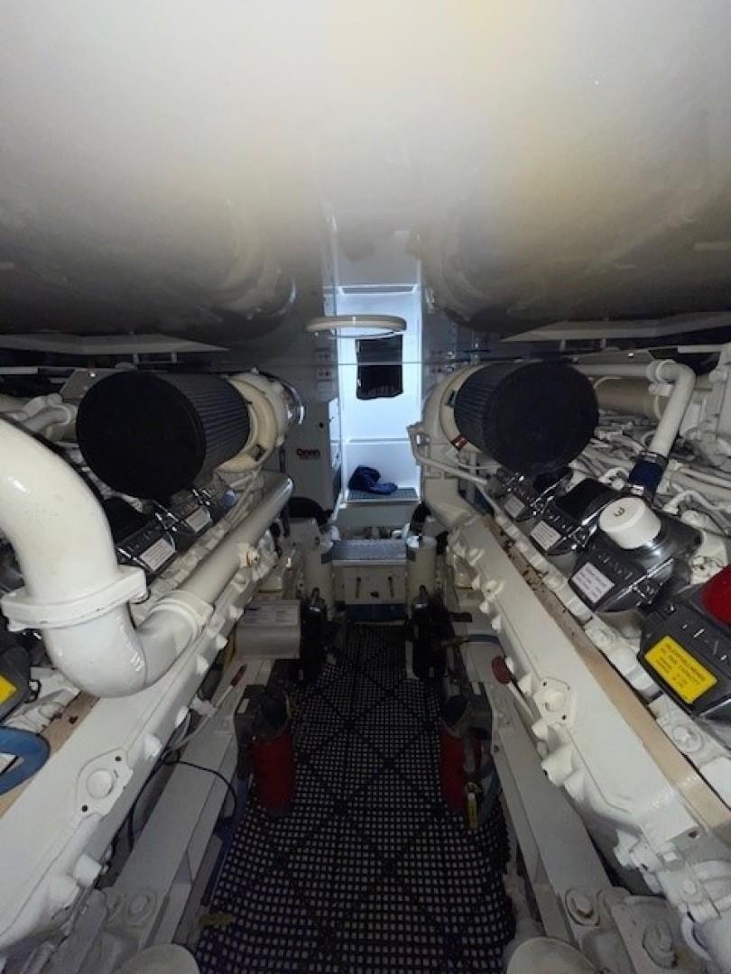 Viking 48 - La Don Goyo - Engine Room
