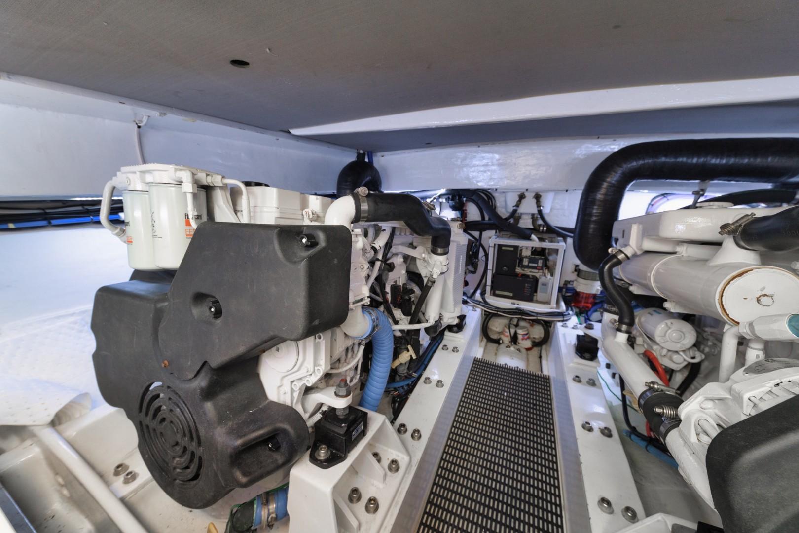 Knowles 37 - Ma Sheila - Engine Room
