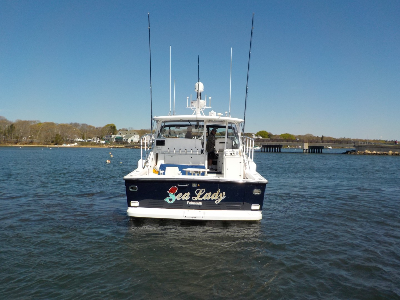 Tiara Yachts 43 - Sealady - Stern Profile