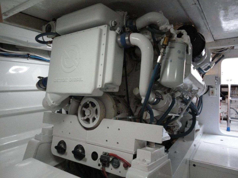 Monterey 58 - SIMPATICA - Engine Room