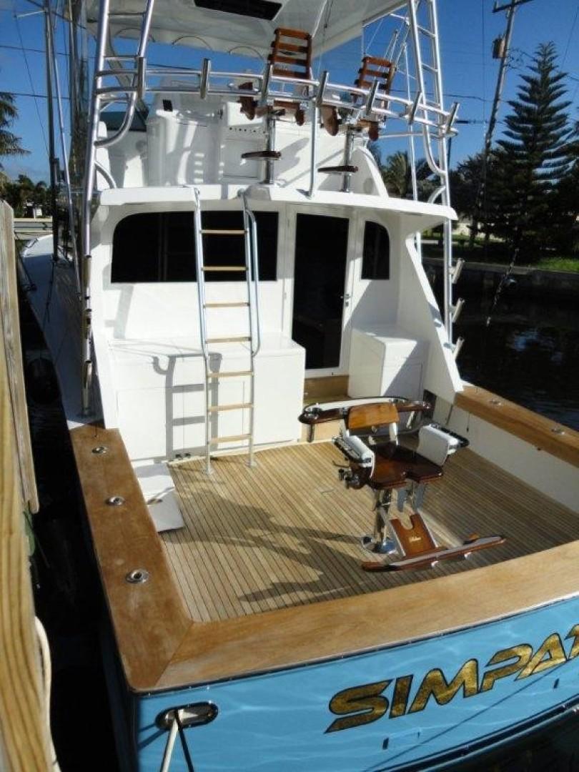 Monterey 58 - SIMPATICA - Cockpit