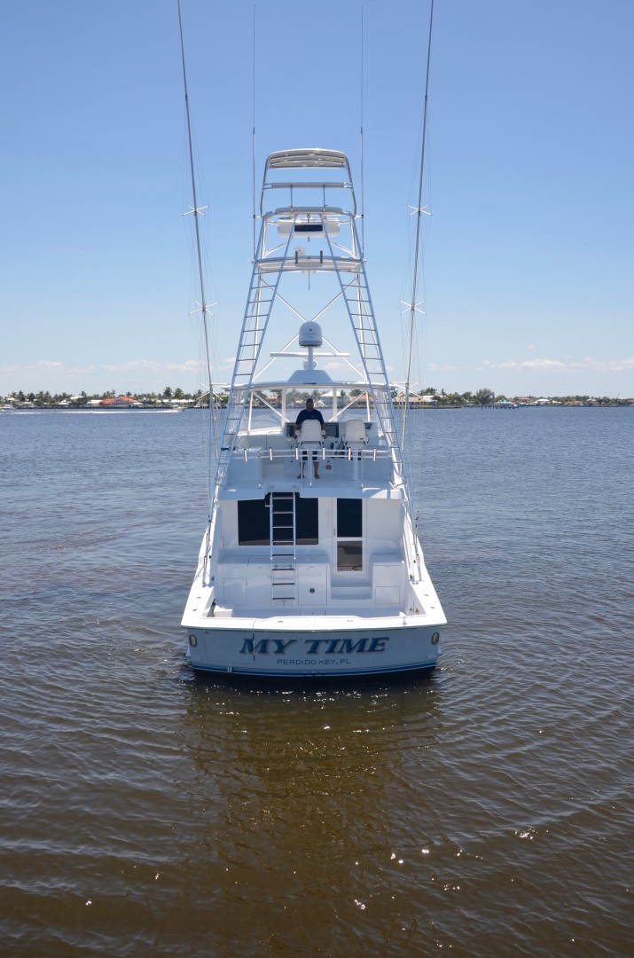 Hatteras 60 - My Time - Exterior Profile