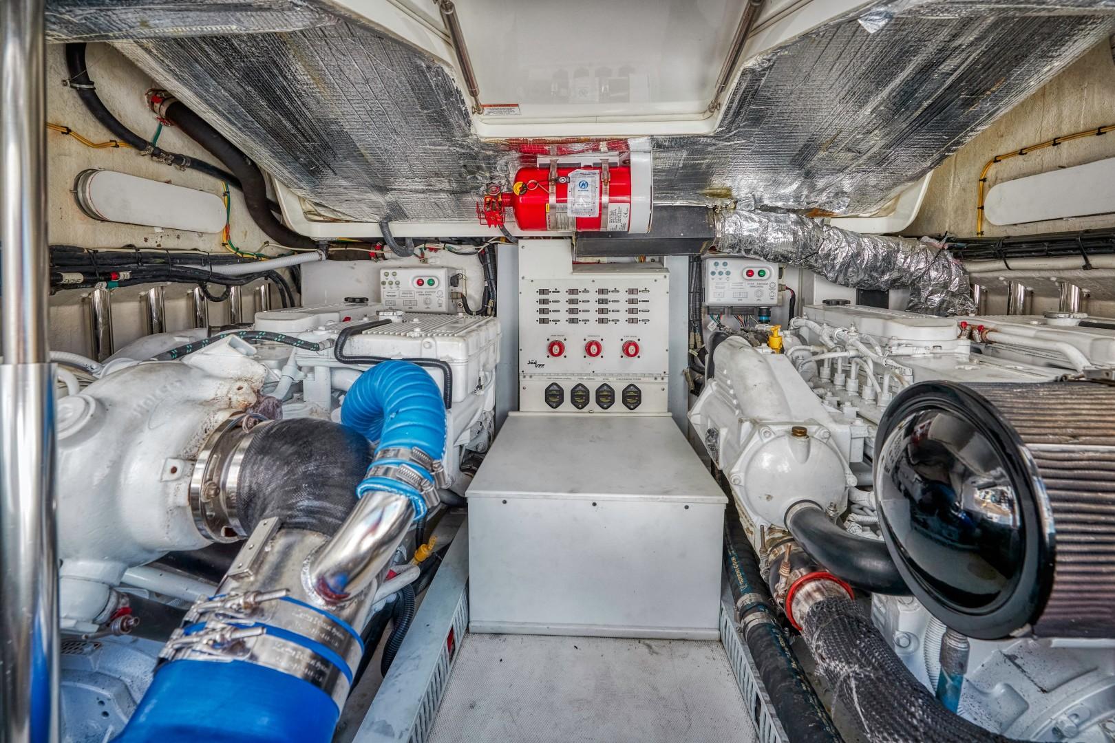 SeaVee 43 - Exit Strategy - Engine Room