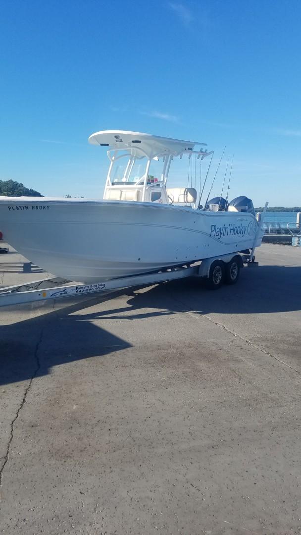 2015 Sea Foc 266 Commander_Trailering Port