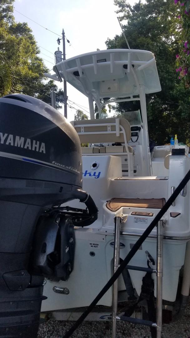 2015 Sea Foc 266 Commander_Swim Ladder