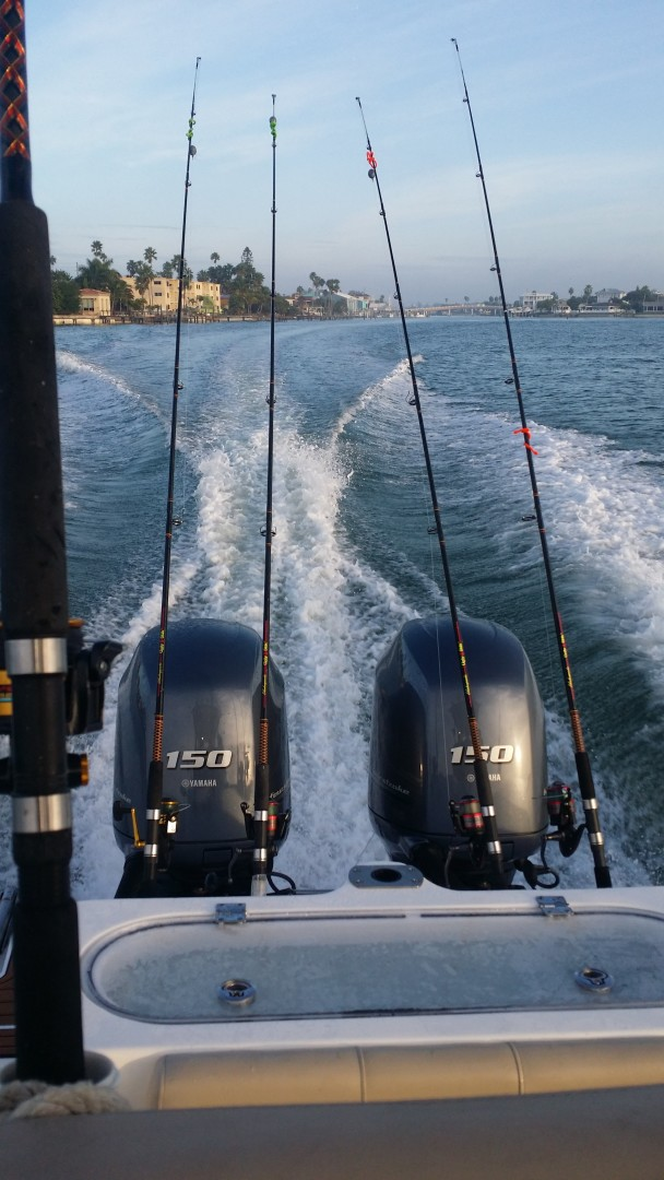 2015 Sea Foc 266 Commander_Stern Running