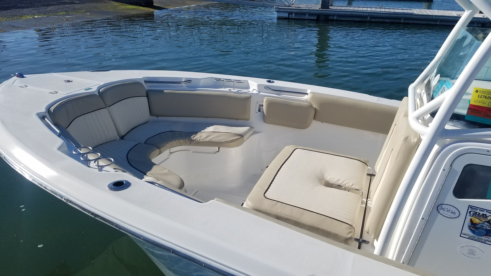 2015 Sea Foc 266 Commander_Bow Seating 2
