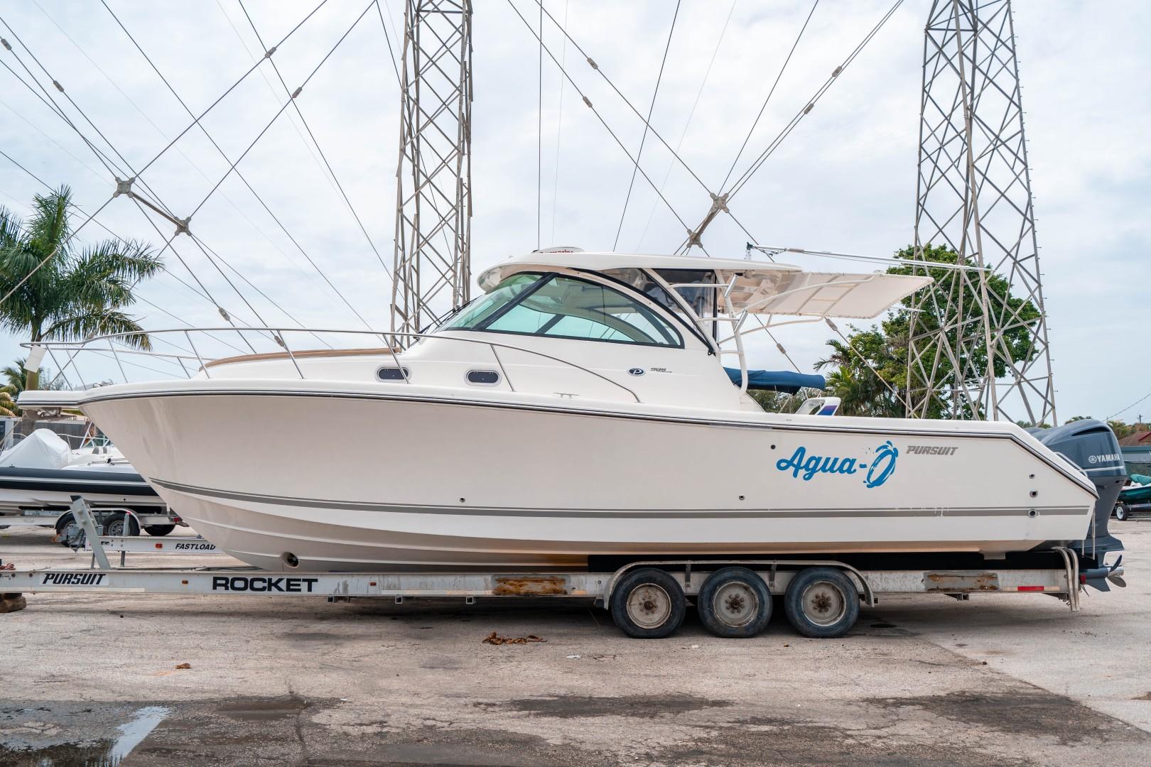 Pursuit 38 - Agua 0 - Port Profile