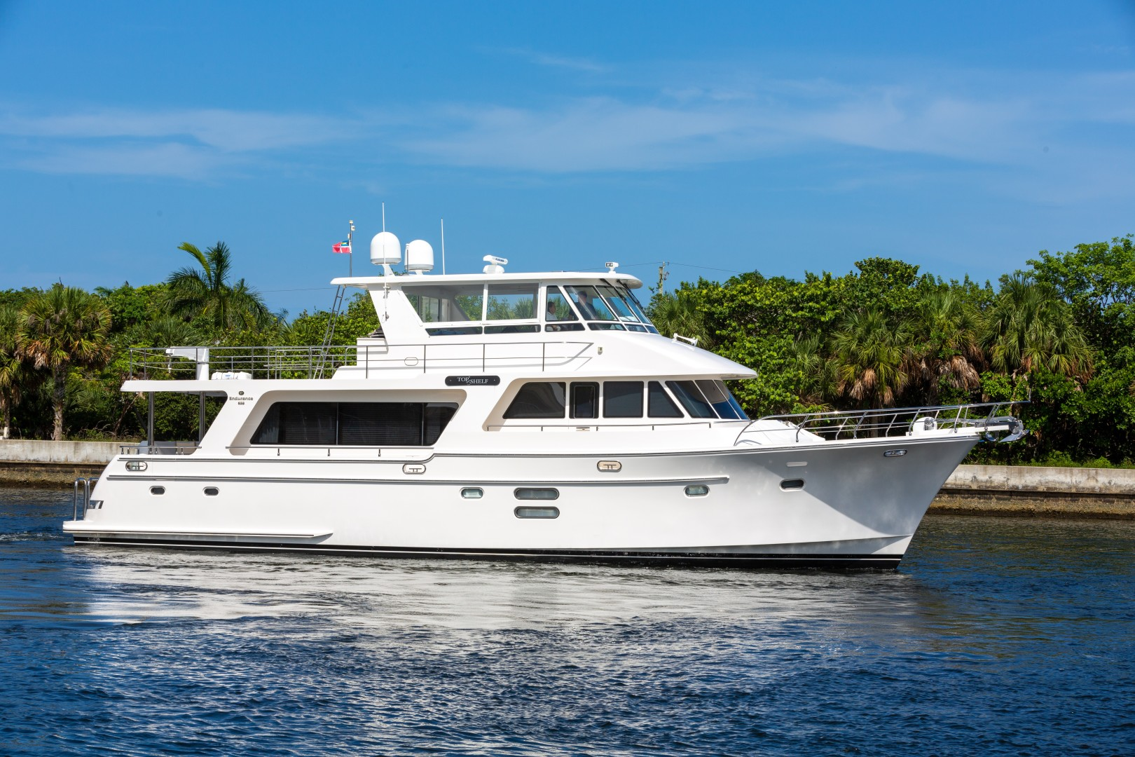 Picture Of: 68' Hampton Endurance 2017 Yacht For Sale | 2 of 47