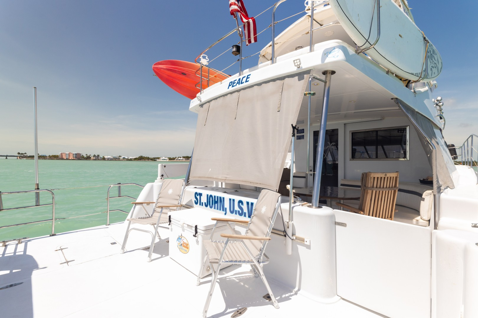 Wright 50 - Peace - Aft Deck